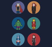 8Bit The Avengers by The World Of Pootermobile