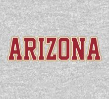 Arizona Jersey Font Crimson by USAswagg