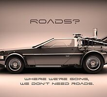 Roads? by Howlenator