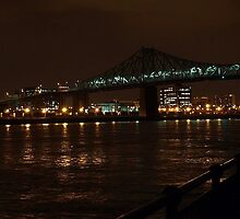 Cartier Bridge by Rina  Kupfer