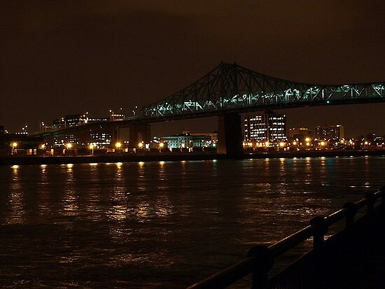 Cartier Bridge by Rina  Kupfer