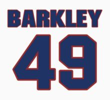 National baseball player Jeff Barkley jersey 49 by imsport