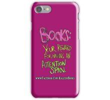Kaleido Books - Attention Span iPhone Case/Skin