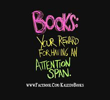 Kaleido Books - Attention Span Unisex T-Shirt