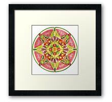 Fruit Mandala Framed Print