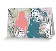 BELLE DE JOUR Greeting Card