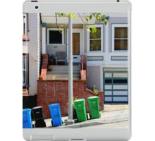 That Gray Plastic Chair - Garbage Day iPad Case/Skin