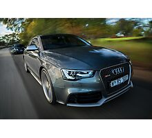 Audi RS5 and RS4 Photographic Print