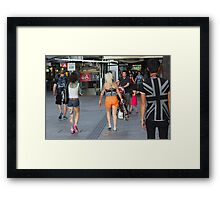 Arrows Point The Way Framed Print