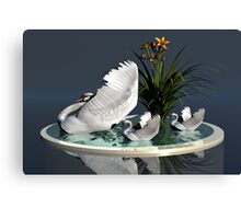 Swan's Lake Canvas Print