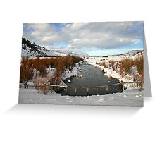Pristine Wyoming Greeting Card