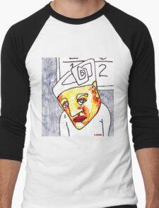 Crying Boy Men's Baseball ¾ T-Shirt