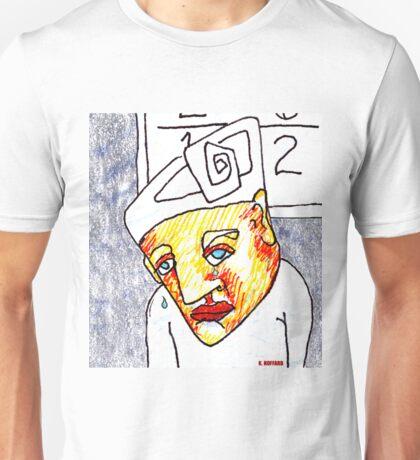 Crying Boy Unisex T-Shirt