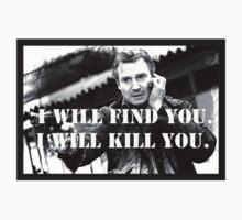Taken Liam Neeson by fbresnah