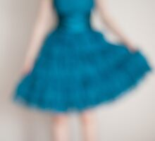 Girl in a Blue Dress by AineKendall
