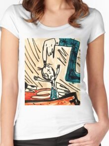 Rag Doll  Women's Fitted Scoop T-Shirt