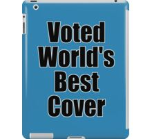 Voted World's Best T-Shirt - Comedy Tee iPad Case/Skin