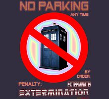 Dalek No Parking Sign Mk.2 Unisex T-Shirt