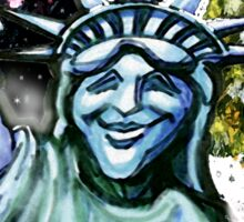 Lady Liberty Sticker