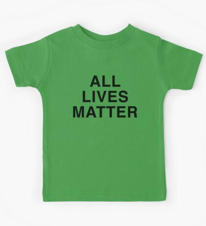 All Lives Matter Kids Tee