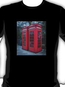 Classic London Telephone Booths T-Shirt