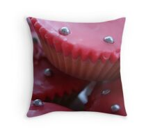 Little Pink Cakes! Throw Pillow