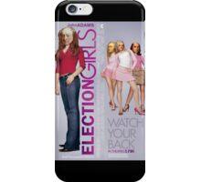 Election Girls iPhone Case/Skin