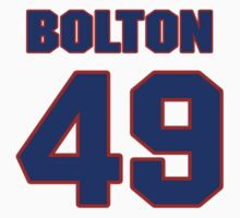 National baseball player Tom Bolton jersey 49 by imsport
