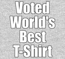 Ironic Tee - Voted World's Best T-Shirt One Piece - Long Sleeve