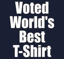 Ironic Tee - Voted World's Best T-Shirt Kids Tee