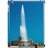 The Clarence Buckingham memorial fountain, Grant Park, Chicago, Illinois, USA. iPad Case/Skin
