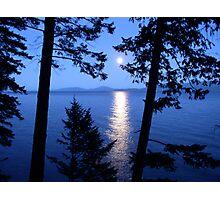 Flathead Moon Photographic Print