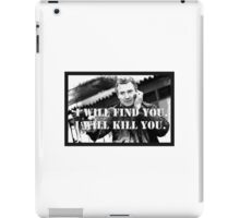 Taken Liam Neeson iPad Case/Skin