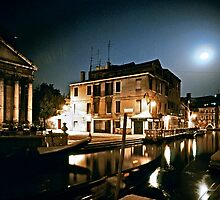 Venice By Moonlight #15 by Mark Ross