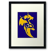 Dratini - Dragonair - Dragonite Framed Print