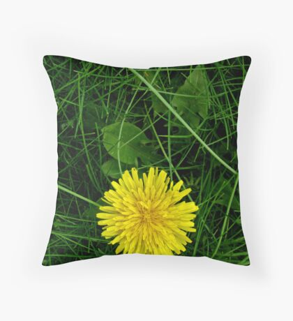 Hello Yellow! Throw Pillow