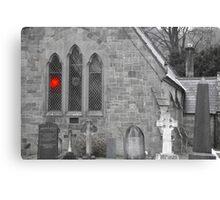 OLD CHURCH> Canvas Print