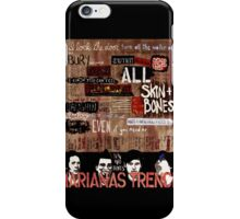 Marianas Trench Skin and Bones iPhone Case/Skin