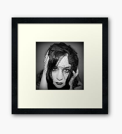 I am all the days you choose to ignore Framed Print