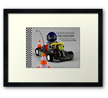 The Hamster Framed Print