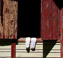 white socks... by Cyril Marchand