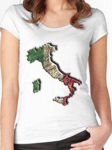 Italian Pride Women's Fitted Scoop T-Shirt