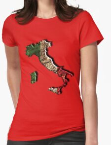 Italian Pride Womens Fitted T-Shirt