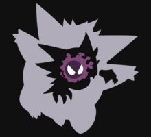 Gastly - Haunter - Gengar | Plain by lomm