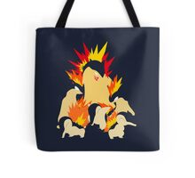 Cyndaquil - Quilava - Typhlosion Tote Bag