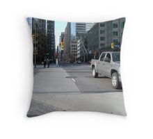 Empty Commotion Throw Pillow