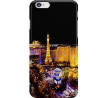 The Strip, at night Las Vegas, Nevada, USA iPhone Case/Skin