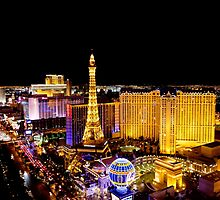 The Strip, at night Las Vegas, Nevada, USA by PhotoStock-Isra