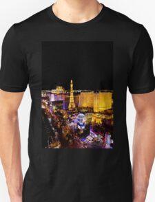 The Strip, at night Las Vegas, Nevada, USA T-Shirt