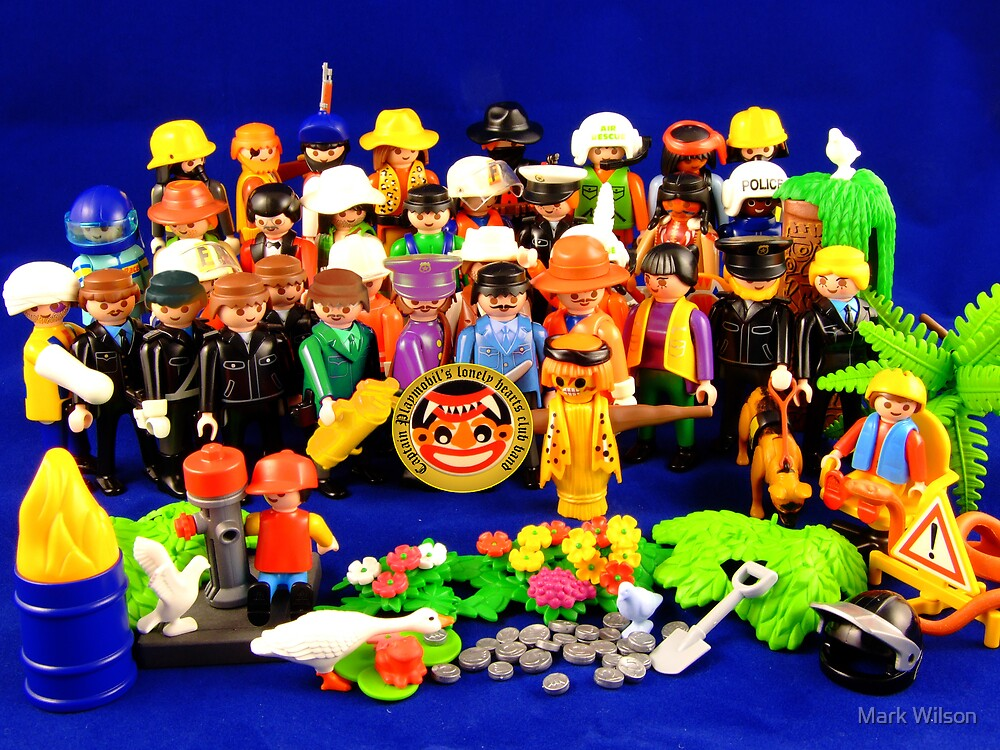 Pepper Playmobil Style by Mark Wilson